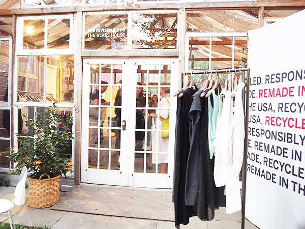 Eileen Fisher Remade in the USA The Glass House