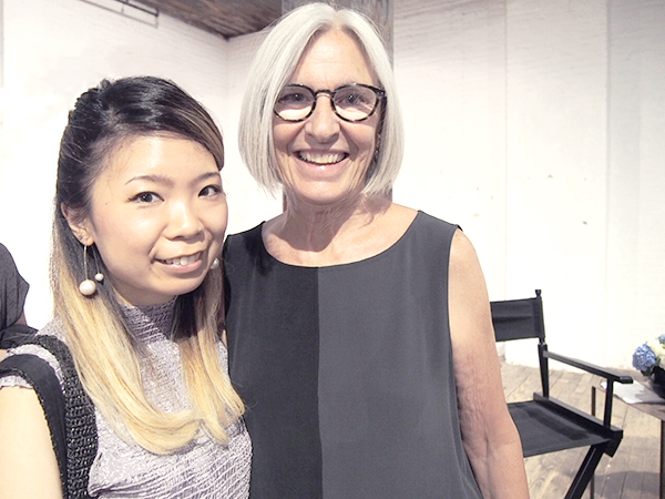 Eileen Fisher and Asuka Ohkuma
