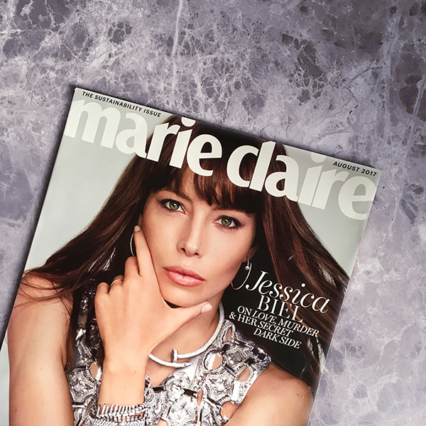 Marie Claire The Sustainability Issue Cover