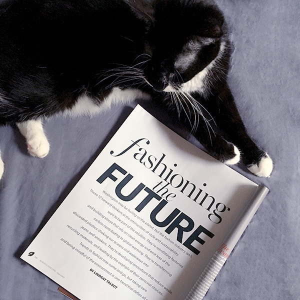 Marie Claire fashioning the FUTURE 1