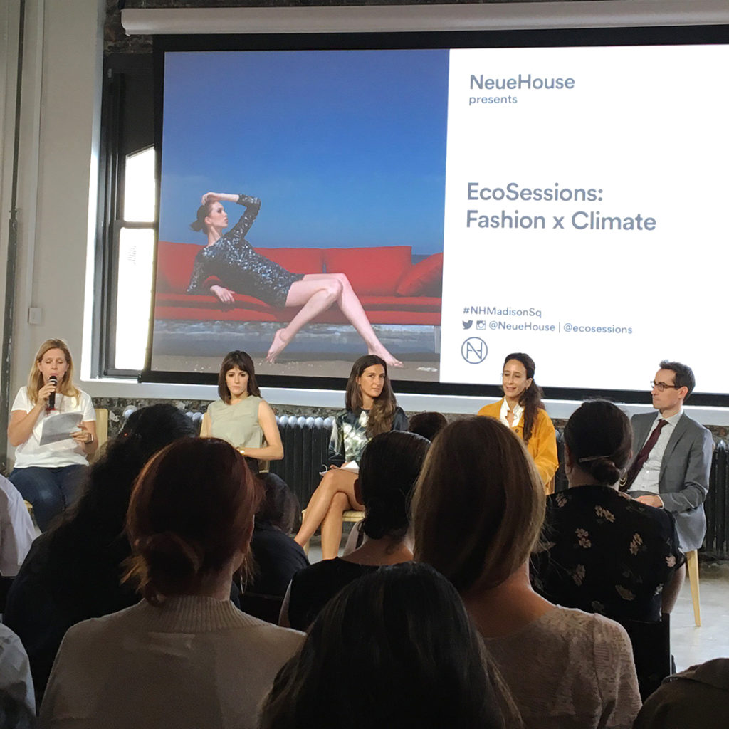 Climate Week NYC Fashion x Climate Panelists