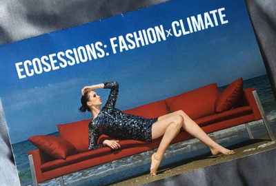 ECOSESSIONS Fashion x Climate 2017