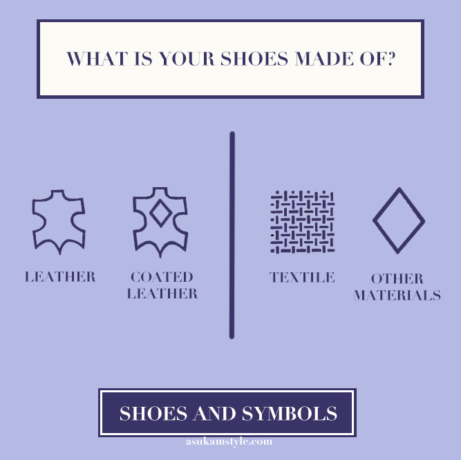 Shoes Symbols What is your shoes made of