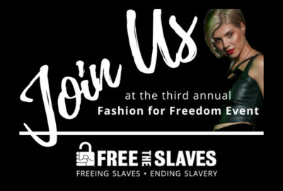 Fashion For Freedom event 2018 NYC